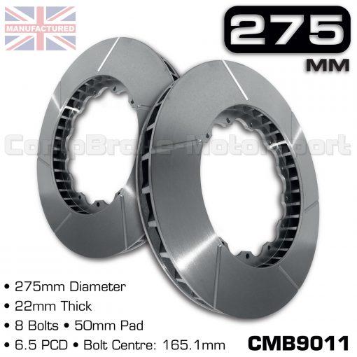 CMB9011-BRAKE-DISC-[275MM-X-22MM-8-BOLT-50MM-PAD-6.5PCD]