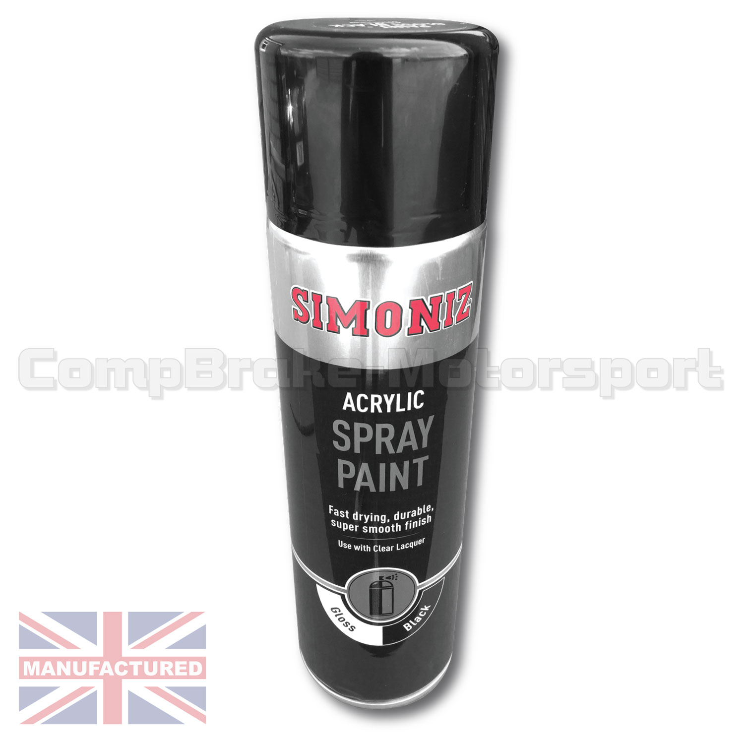 Holts simoniz spray paint 500ml black gloss white gloss or primer single can miscellaneous Black spray paint