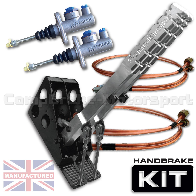 Hydraulic Handbrake Kit : Mm dual vertical slimline hydraulic handbrake kit