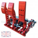 CMB0666-CAB-PRL-R-PEDAL-BOX-[FLOOR-MOUNTED]-PREMIER-PRO-LIGHT-UNIVERSAL-(CABLE-3-PEDAL)-RED-STD
