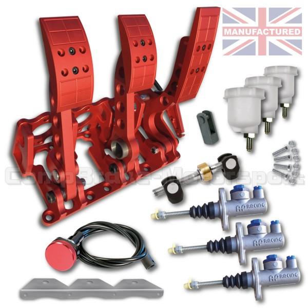 Universal Floor Mounted Hydraulic Pedal Box Kit Premier