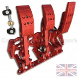 CMB0666-HYD-PRL-R-PEDAL-BOX-[FLOOR-MOUNTED]-PREMIER-PRO-LIGHT-[HYDRAULIC]-UNIVERSAL-(3-PEDAL)-RED-BOX+BAR