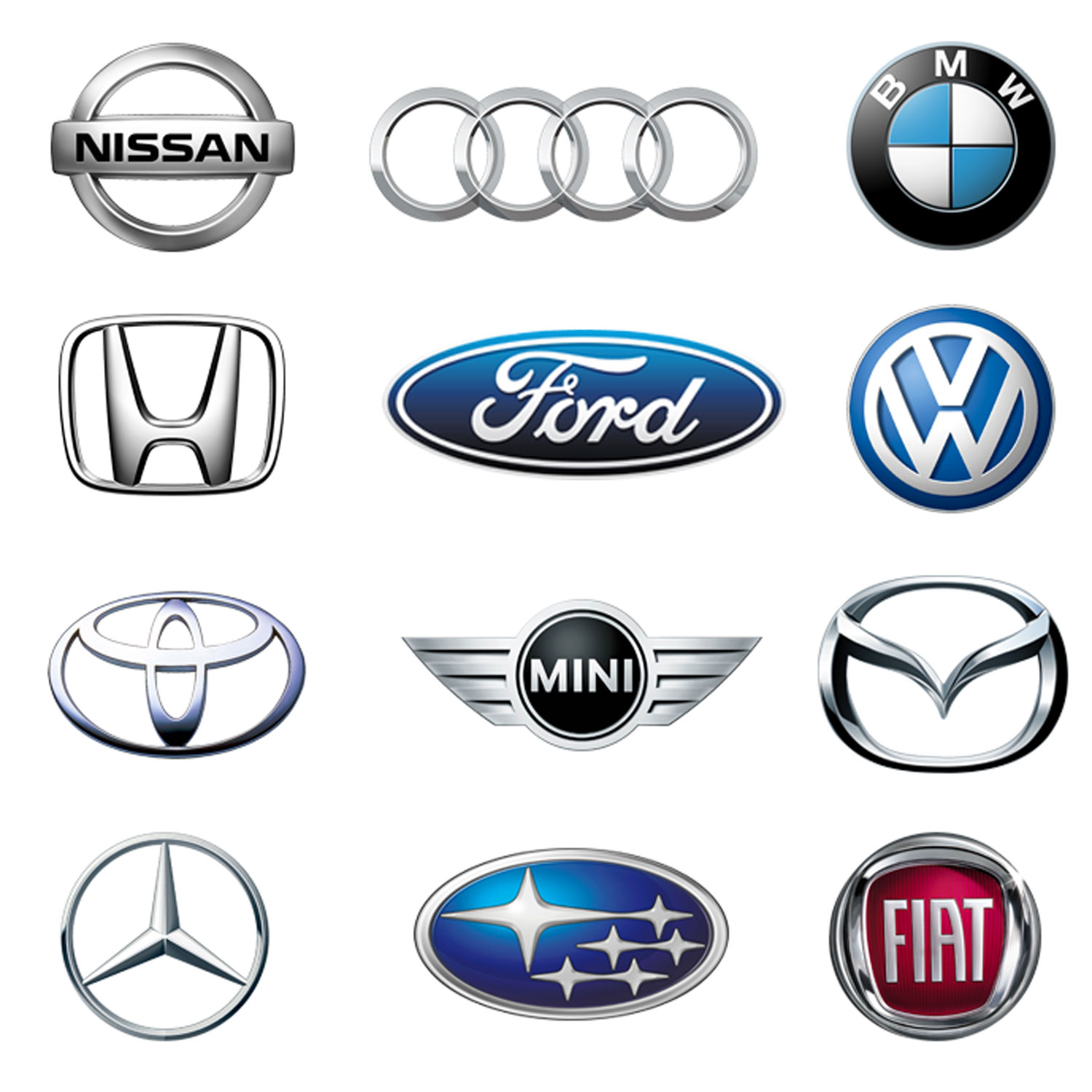 Parts by Car Manufacturer