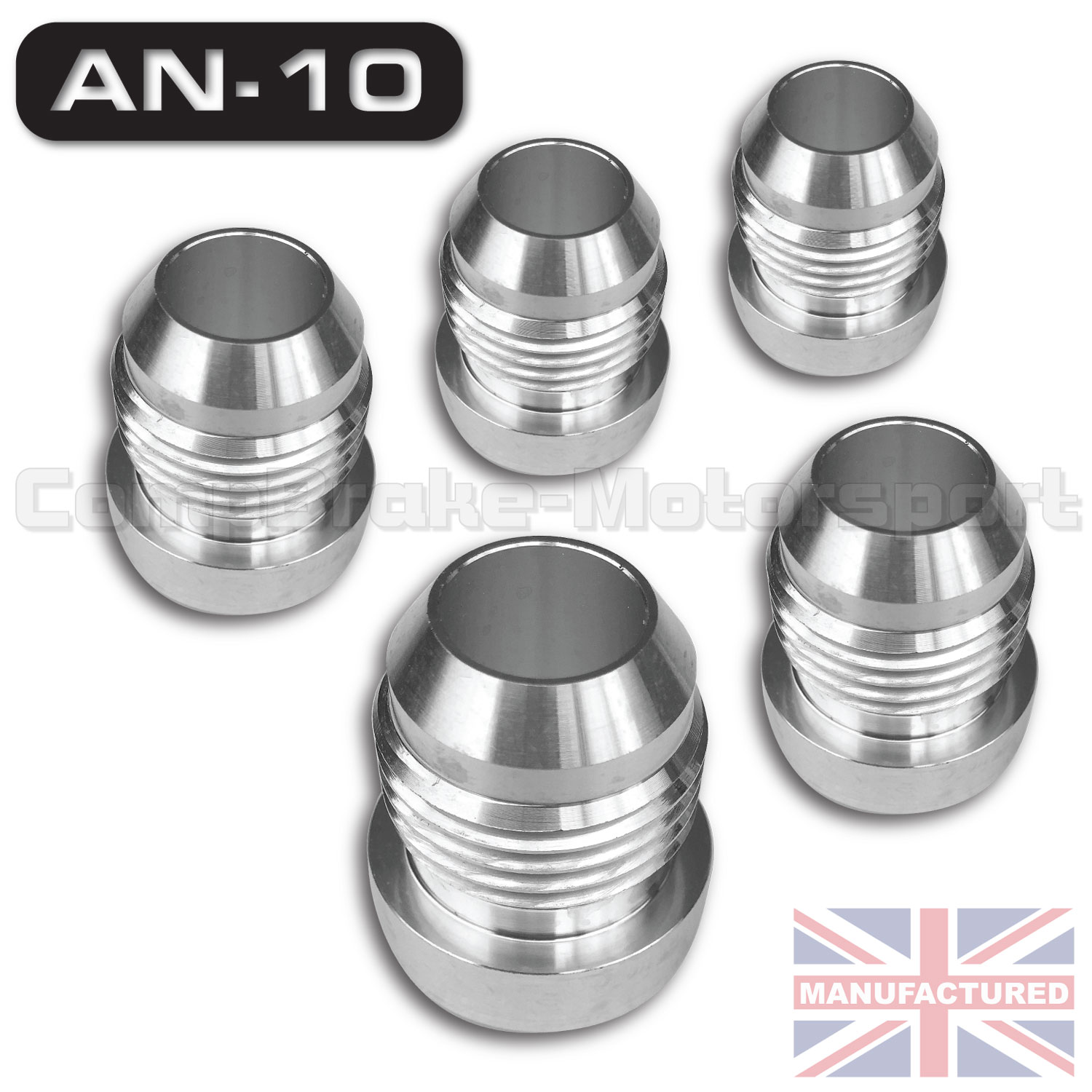 Weld On Jic An 10 Male Aluminium Tank Fitting X5 Tank