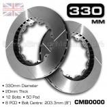 CMB0000-BRAKE-DISCS-[330MM-X-20MM-12-BOLT-50MM-PAD-8PCD]