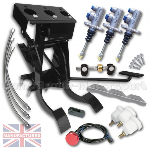 CMB0728-HYD-AP-PEDAL-BOX-[UNDERSLUNG]-DIRECT-REPLACEMENT-AP-CYLINDERS-[HYDRAULIC]-FORD-LOTUS-CORTINA-MK-1-2-[3-PEDAL]-BOX-KIT[B]