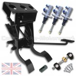 CMB0728-HYD-AP-PEDAL-BOX-[UNDERSLUNG]-DIRECT-REPLACEMENT-AP-CYLINDERS-[HYDRAULIC]-FORD-LOTUS-CORTINA-MK-1-2-[3-PEDAL]-BOX-STD