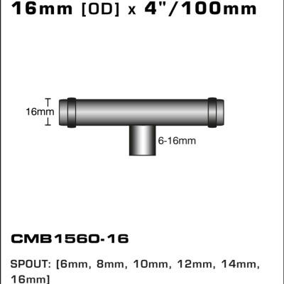 CMB1560-16-T-PIECE-16MM-[OD]-x-4INCH-[100MM]