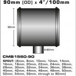 CMB1560-90-T-PIECE-90mm-[OD]-x-4INCH-[100mm]