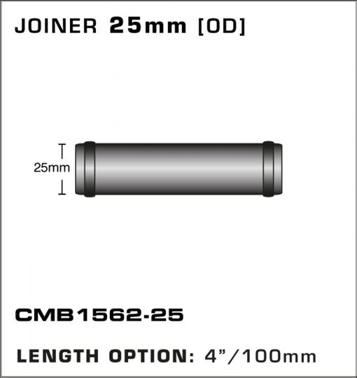 CMB1562-25-T-PIECE-JOINER-25mm-[OD]-x-4INCH-[100mm]