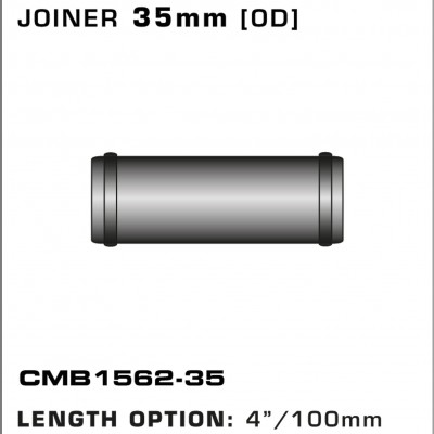 CMB1562-35-T-PIECE-JOINER-35mm-[OD]-x-4INCH-[100mm]