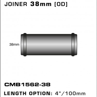 CMB1562-38-T-PIECE-JOINER-38mm-[OD]-x-4INCH-[100mm]