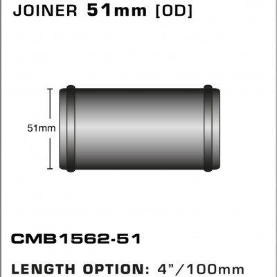 CMB1562-51-T-PIECE-JOINER-51mm-[OD]-x-4INCH-[100mm]