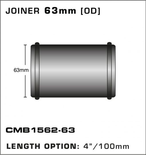 CMB1562-63-T-PIECE-JOINER-63mm-[OD]-x-4INCH-[100mm]