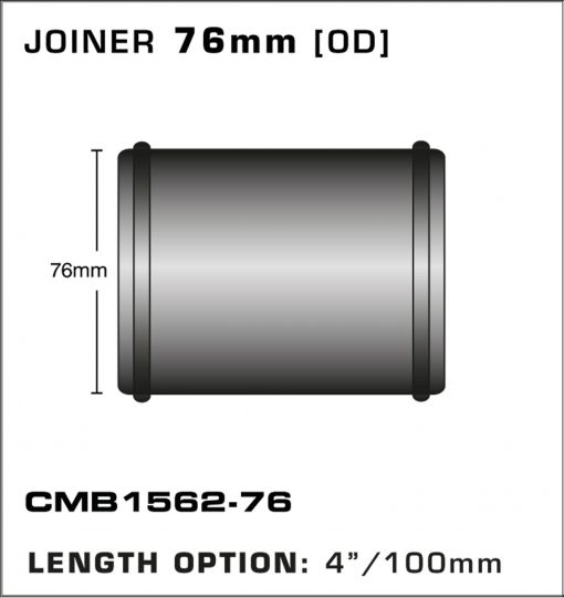 CMB1562-76-T-PIECE-JOINER-76mm-[OD]-x-4INCH-[100mm]
