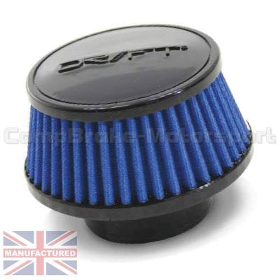 CMB-D1-25594925-U-DRIFT-AIR-FILTER-[URETHANE]-110MM[HIGH]-X-125MM-DIA[TOP]-X-150MM-DIA[BASE]-[60MM-NECK]-MAIN