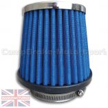 CMB-D1-30594951-MC-DRIFT-AIR-FILTER-[METALCAP]-170MM[HIGH]-X-125MM-DIA[TOP]-X-150MM-DIA[BASE]-[75MM-NECK]-FRONT
