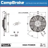 CMB-[0193HP]-COOLING-FAN-[HIGH-POWER]-COMEX-SUCTION-10'-(255MM)-DIAGRAM
