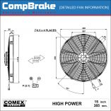 CMB-[0349HP]-COOLING-FAN-[HIGH-POWER]-COMEX-SUCTION-15'-(385MM)-DIAGRAM