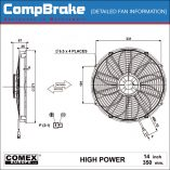 CMB-[0423HP]-COOLING-FAN-[HIGH-POWER]-COMEX-SUCTION-14'-(350MM)-DIAGRAM