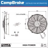 CMB-[0429HP]-COOLING-FAN-[HIGH-POWER]-COMEX-SUCTION-13'-(330MM)-DIAGRAM