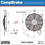 CMB-[0607HP]-COOLING-FAN-[HIGH-POWER]-COMEX-SUCTION-12'-(305MM)-DIAGRAM