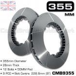 CMB9355-BRAKE-DISCS-[355MM-X-28MM-12-BOLT-55MM-PAD-9PCD]