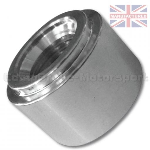 CMB7609-5-EIGHTHS'-BST-FEMALE-ALUMINIUM-WELD-ON-FITTING-IDEAL-FOR-TURBO-OIL-FEED-SENSOR-DRY-SUNP-TNANK-[SKEW]
