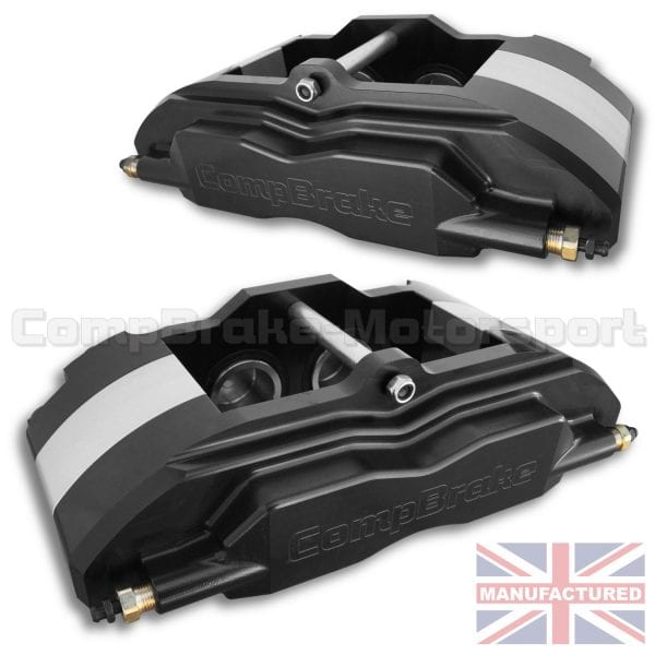 Porsche Boxster Engine Braking: Porsche Boxster Pro Race 10 Front Calipers [4 Pot] Black