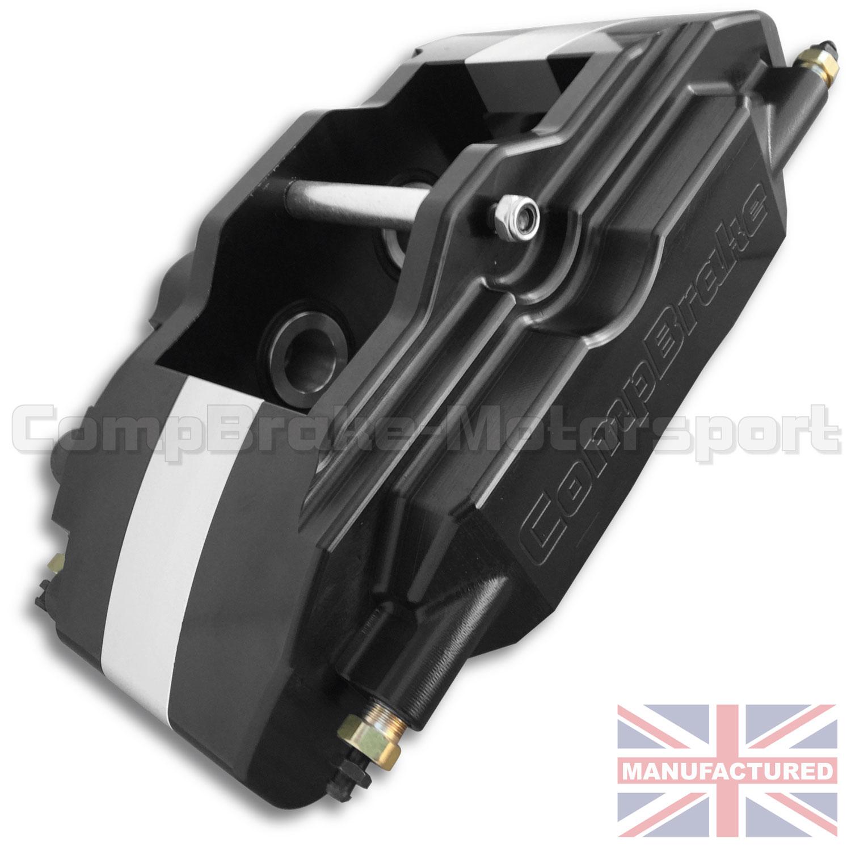 Porsche Boxster Engine Braking: Porsche Boxster Pro Race 9 Rear Calipers [4 Pot] Black