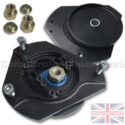 CMB4407-TOP-MOUNT-[FRONT-3-PIECE-ADJUSTABLE-WITH-STRENGTHENING-PLATE]-PEUGEOT-206-FA-[SKEW-PAIR]