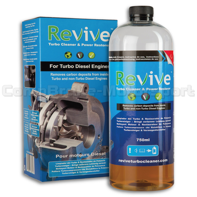 Diesel Turbo Kit : Revive turbo cleaner and power restorer starter kit ml