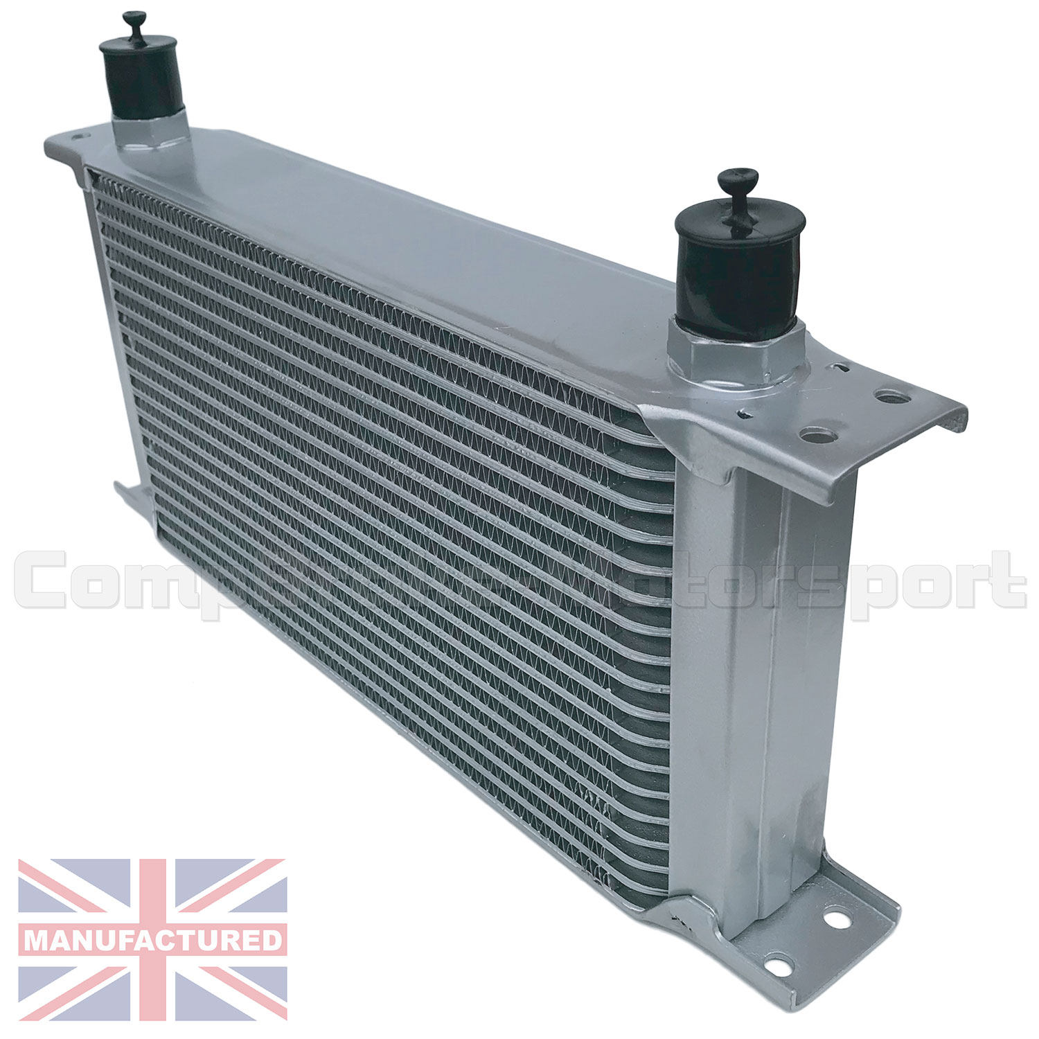 Honda Silver Spring >> Universal 19 Row AN10 AN-10 10AN Engine Transmission Oil Cooler [Radiator] Silver UK - Oil ...